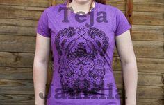 S XXL Narwhal Pirate Tattoo T-Shirt Black on by TejaJamilla