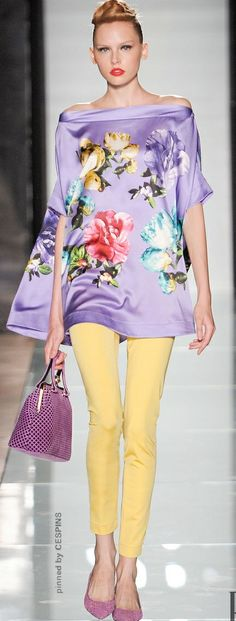 ~ Living a Beautiful Life ~ ROCCOBAROCCO  READY-TO-WEAR  SPRING-SUMMER 2014