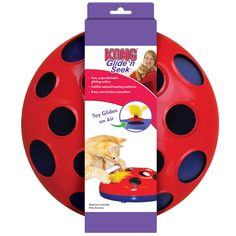 KONG Glide 'n Seek Cat Toy | EntirelyPets