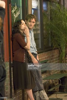 Norah Jones and Jude Law film 'My Blueberry Nights' on Grand Street in SoHo on June 22, 2006 in New York City.