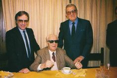 Ecclestone, Don Enzo Ferrari and Balestre