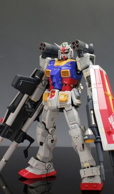 MG Gundam [Ver. Full Weapon Set] – Customized Build Modeled by ghost