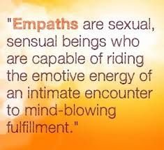 Empaths are sexual, sensual beings who are capable of riding the emotive energy of an intimate encounter to mind-blowing fulfillment. Empath Traits, Intuitive Empath, Empath Types, Psychic Empath, Empath Abilities, Highly Sensitive Person, Sensitive People, Infj Personality, Introvert
