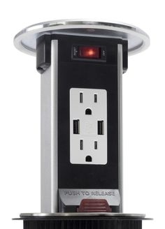 Spill Proof Pop Up 15a Usb Outlet Stainless Kitchen Outlets
