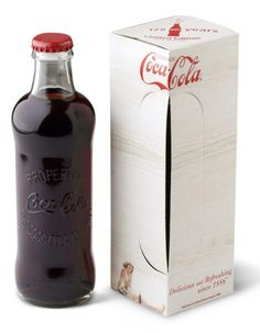 Original Coca Cola bottle #packaging
