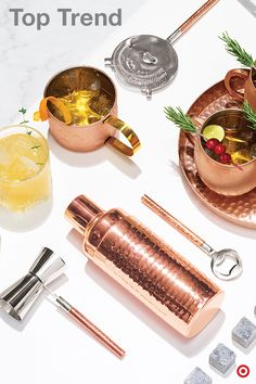 on the heels of one of the most popular cocktails the moscow mule gleaming