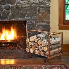 Photo: John Gruen | thisoldhouse.com | from How to Build a Log Holder