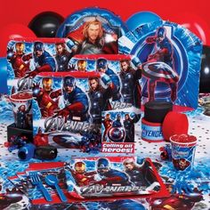 Avengers  Birthday Express