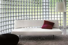 """I like this Bonaldo sofa bed (Pierrot) too. Someday I hope to be rich enough that when something fancy is listed without a price (""""call for a quote""""), I can actually call. Or better yet, have my assistant call. Bespoke Furniture, Sofa Furniture, Luxury Furniture, Modern Furniture, Modern Sofa, Living Room Sofa, Living Room Furniture, Dining Room, Contemporary Sleeper Sofas"""
