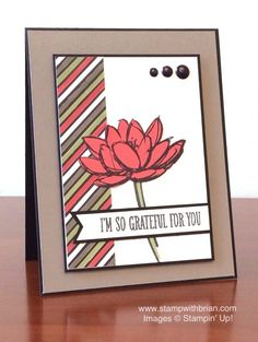 Remarkable You, Go Wild Designer Series Paper Stack, Stampin' Up!, Brian King, FMS190: