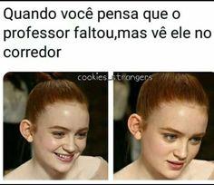 Memes brasileiros escola Ideas for 2019 Crush Memes, Memes Status, Stranger Things Netflix, Relationship Memes, Forever, Life Memes, Funny People, Best Memes, Funny Jokes