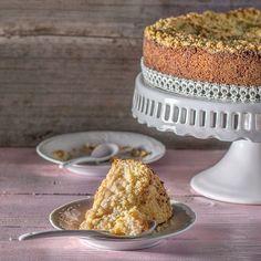Anybenyraba: ванильно-грушевый пирог со штрейзелем