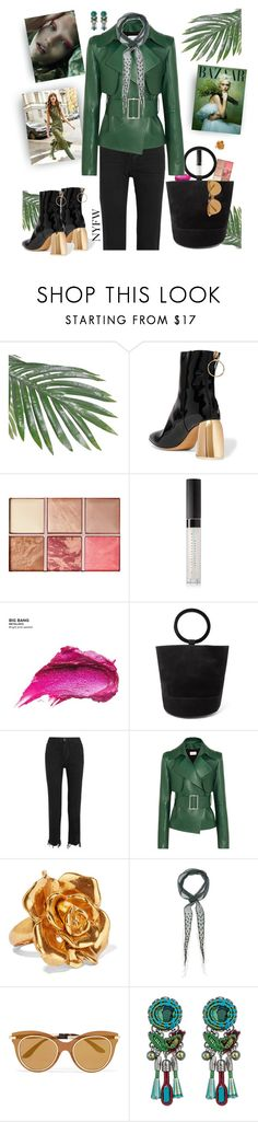"""""""Perfectly Polished"""" by taste-for-life ❤ liked on Polyvore featuring E L L E R Y, Hourglass Cosmetics, Estée Lauder, Urban Decay, Simon Miller, Belmondo, 3x1, Thierry Mugler, Oscar de la Renta and Chan Luu"""