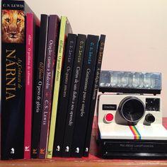 C.S. Lewis books... love:)