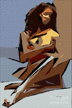Cubism Series 800 Digital Art by Rafael Salazar Action Painting, Figure Painting, Cubist Art, Abstract Art, Arte Pop, Art Studies, Claude Monet, Pablo Picasso, Art Plastique