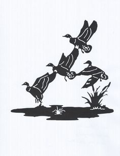 Hey, I found this really awesome Etsy listing at https://www.etsy.com/listing/186088510/ducks-in-flight-metal-art