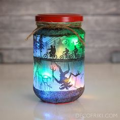 Stranger Things Decor - Stranger Things Candle Holder - Halloween Decor - Halloween Decorations - Ha