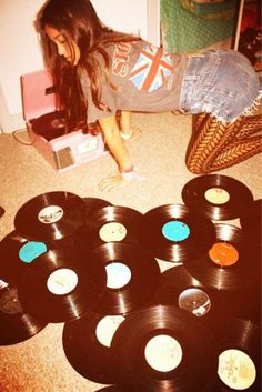 Rock And Roll, Pop Rock, Lps, Retro, Wise Girl, Vinyl Junkies, Record Players, Vintage Vinyl Records, Record Collection