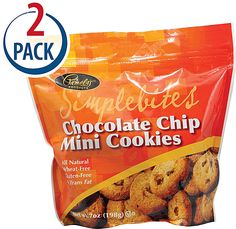 Pamela's Products Simple Bites Cookies Gluten and Wheat Free Chocolate Chip: (As with most products of this brand, these are super tasty.  On the crisper side so good dunked in coffee. -Nichol)