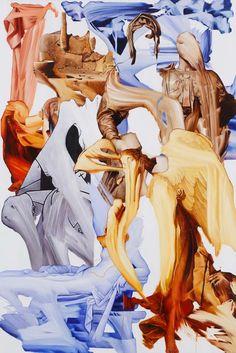 It's Nice That   Kei Imazu's warped oil paintings reimagine classical portraiture