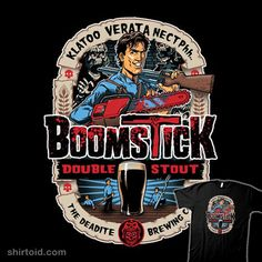 Boomstick #armyofdarkness #ashvsevildead #ashwilliams #boomstick #evildead #film #horror #label #movie