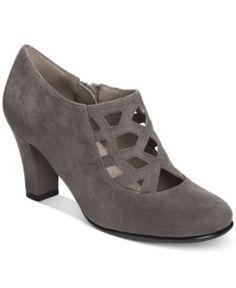 1930s Style Shoes Aerosoles Petroleum Shooties Womens Shoes $99.00 AT vintagedancer.com