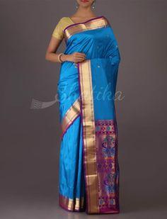 Revati Rich Paithani Inspired Magnificent #BangaloreWeddingSilkSaree