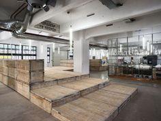 Ruw hout, beton, industriële uitstraling – Doepel architecture et la restauration du bâtiment Haka à Rotterdam