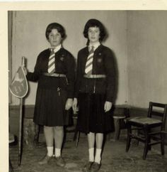 French Girl Guides (GdF) 1961