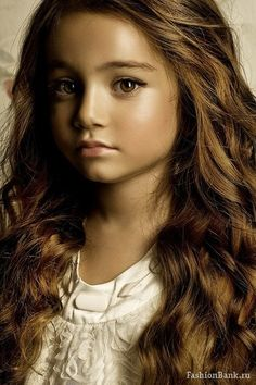This little girl is gorgeous.