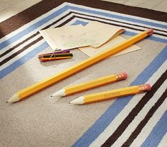 crazy cool huge pencil that really works, even the eraser...