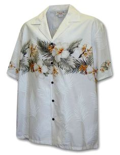 Hawaiian Shirt Hibiscus Band - Maika