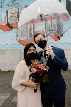 Love is not cancelled! | Wedding During 2020 Pandemic | The Groomsman Suit #weddings Rainy Wedding, Elope Wedding, Wedding Veils, Wedding Attire, Bride And Groom Pictures, Groomsmen Suits, Groom Poses, Groom Wear, Wedding Portraits