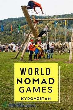 The World Nomad Games in Kyrgyzstan was an incredible event to see. Definitely a highlight of travel in Central Asia. #Kyrgyzstan #CentralAsia #nomad