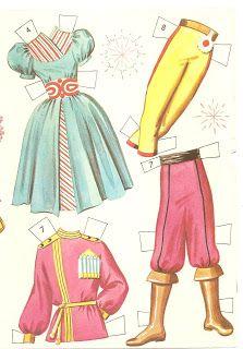 Miss Missy Paper Dolls: The Nutcracker Ballet cutouts