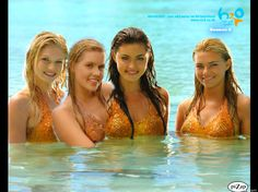 Here are the Mermaids from H20, just add water.
