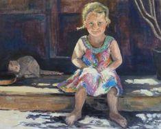 Original Portrait Painting by Ellen Fasthuber-huemer Oil On Canvas, Saatchi Art, Original Paintings, The Originals, Artist, Pictures, Artists