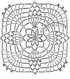 » Мотив крючком, для покрывала, скатерти. KlubOK — вязание, рукоделие.