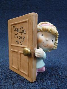 Enesco Dear God Kids It's Only Me (pt376)