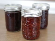 canning without pectin.  Has a wonderful recipe for a strawberry honey jam that just uses apples to thicken. Also a wonderful overview of canning for beginners.