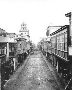 Calle Callao (hoy Calle Conde de Superunda)