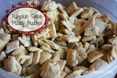The Few, The Proud, and This Marine Wife . . .: Pumpkin Spice Muddy Buddies