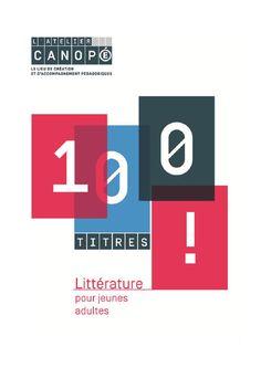 100 titres : littérature pour jeunes adultes - 2015