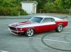 69 Mustang, not really a Ford Fan, but this ones Sweet Ford Motor Company, Ford 2000, Enjoy The Ride, Mustang Cars, Ford Mustangs, Mustang Fastback, Shelby Gt500, Red Mustang, 1973 Mustang