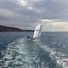 Sailing the Optimist!