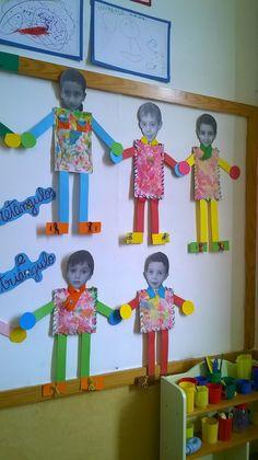 Jardín Actividades E Ideas, Actividades - Diy Crafts - DIY & Crafts All About Me Crafts, All About Me Preschool, Preschool Lessons, Preschool Crafts, Learning Activities, Preschool Activities, Body Parts Preschool, Art For Kids, Crafts For Kids