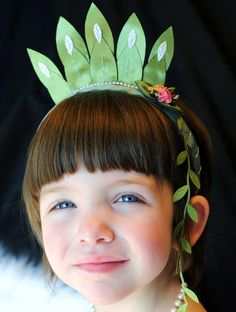 Flower Headband Crown - Princess Tiana Inspired - Free Shipping Offer