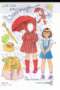 April Showers by Hilda Miloche