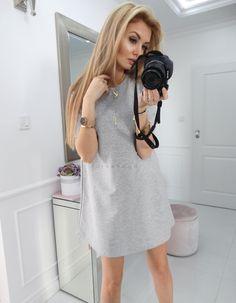 MODEL 2 - Sukienka prosta - CINAMOON - Polski producent