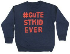 Kind of obsessed with this #cutestkidever sweatshirt from #CharmCityBabies. Via @Bumblebean